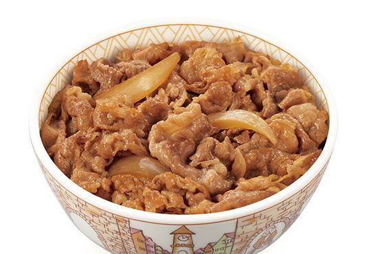 すき家 牛丼
