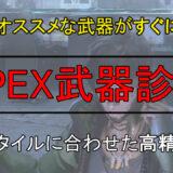 APEX 武器 診断 おすすめ